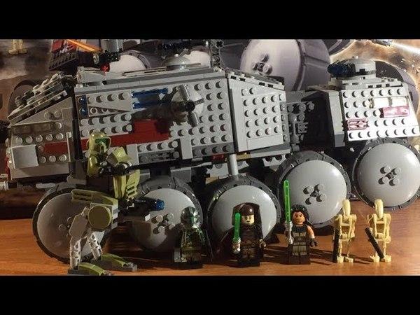 Лего Star Wars набор 75151 Турбо танк клонов. Юбилейный обзор