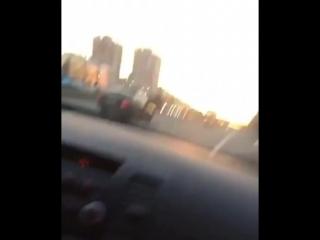 Парень на авто в Казани решил повыпендриваться