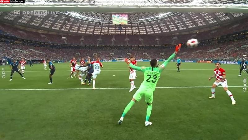 FIFA WM 2018 Finale Frankreich Kroatien 4 2 Zusammenfassung
