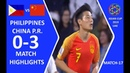 🇵🇭 PHILIPPINES – CHINA P.R. 🇨🇳 - 0:3 | HIGHLIGHTS | MATCH-17 | 11.01.2019 ASIAN CUP 2019 UAE HD
