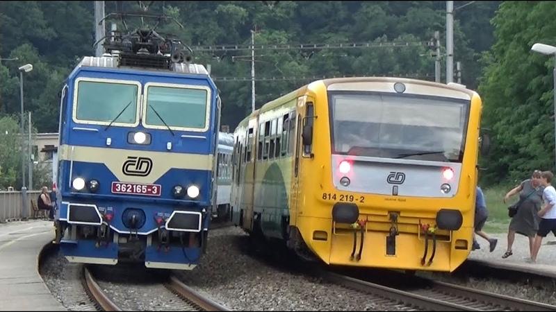 Vlaky Bílovice nad Svitavou 5/2018