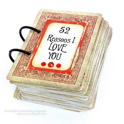 Оригинальная книга для признаний в любви