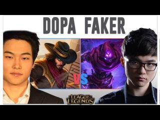Faker vs Dopa | Malzahar vs Twisted Fate | Pro Replays ★27