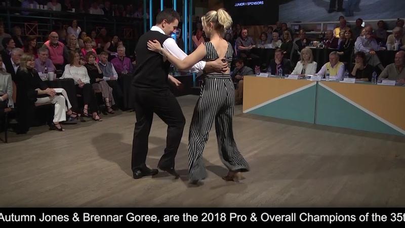 2018 Professional Divisions Overall Champions Jones Goree