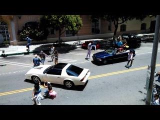 Видео со съёмок клипа Арианы Гранде на