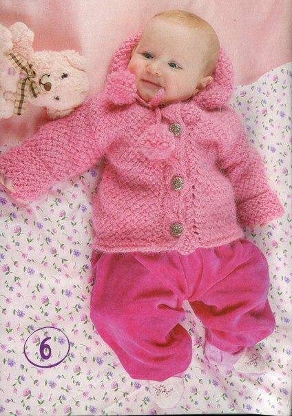 Курточка с капюшоном для девочки 6 месяцев… (2 фото) - картинка