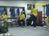 Роналдиньо, Роналдо и Роберто Карлос всегда зажигали на тренировках. Даже в раздевалке. Гении