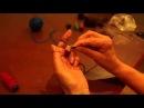 Как вязать с резиновой нитью-спандексом (how to knit with rubber nityu-spandex)