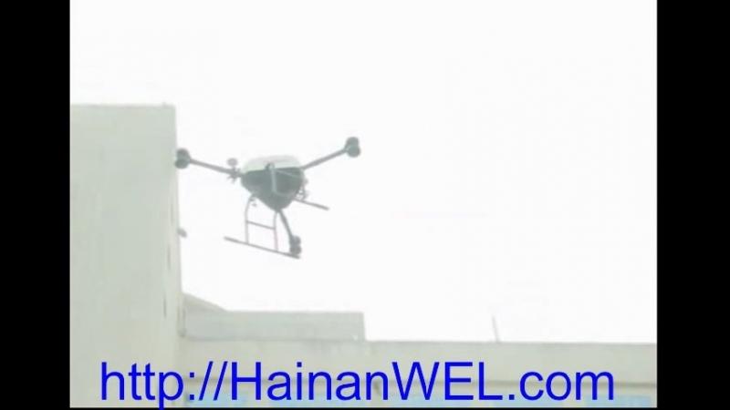 Доставка товаров дронами в Санья и Хайкоу на острове Хайнань, Китай началась 26 марта 2018 года- беспилотники и квадрокоптеры до