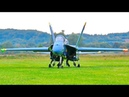 STUNNING AMAZING HUGE RC F 18 BLUE ANGELS SCALE MODEL TWIN TURBINE JET FLIGHT DEMONSTRATION