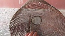 Раколовка своими руками из строительной сетки