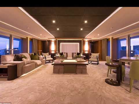 Billionaire yachts interior