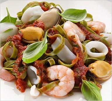 диета рецепты морепродукты