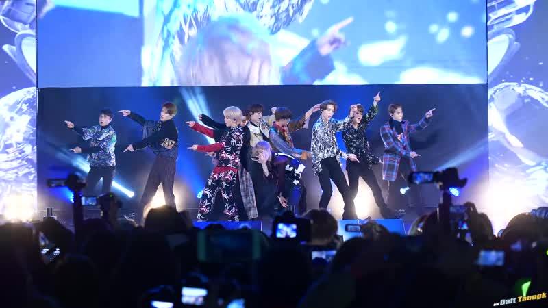 [fancam] 181102 NCT 127 - Regular @ Sports World Hope Big Concert