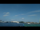Развод мостов на Неве в честь парада ВМФ