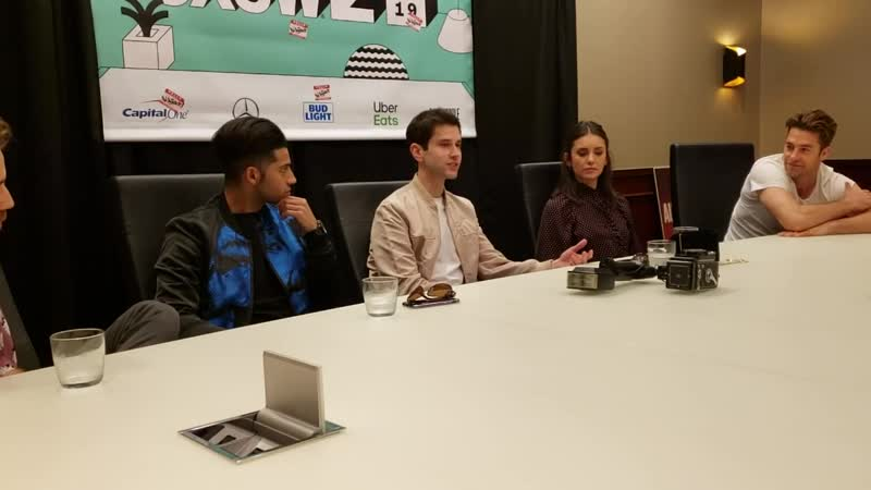 >> Interview with the cast of RUN THIS TOWN at SXSW 2019