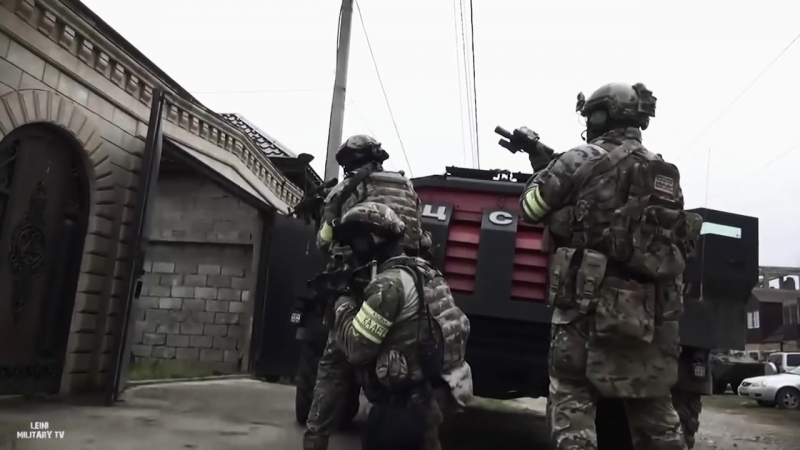 SWAT ANTI-TERROR (FSB _ FSS) FEDERAL SECURITY SERVICE OF RUSSIA