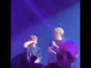 Jimin stand beside Jungkook and sang So What with him