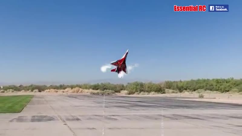 SPECTACULAR Soviet Mikoyan MiG-29 OVT VECTORED THRUST Demo .