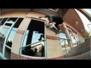 INSTABLAST! Feeble to BS Lip Big Handrail!?!! Raybourn, Haslam!! Santa Monica Courthouse Session