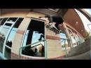 INSTABLAST! Feeble to BS Lip Big Handrail!?!! Raybourn, Haslam!! Santa Monica Courthouse Session