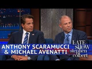 Anthony Scaramucci & Michael Avenatti Debate Over Rosé