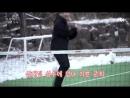 [메이킹] 진아♡준희, 족구 하다가 폭발한 스킨쉽().mp4