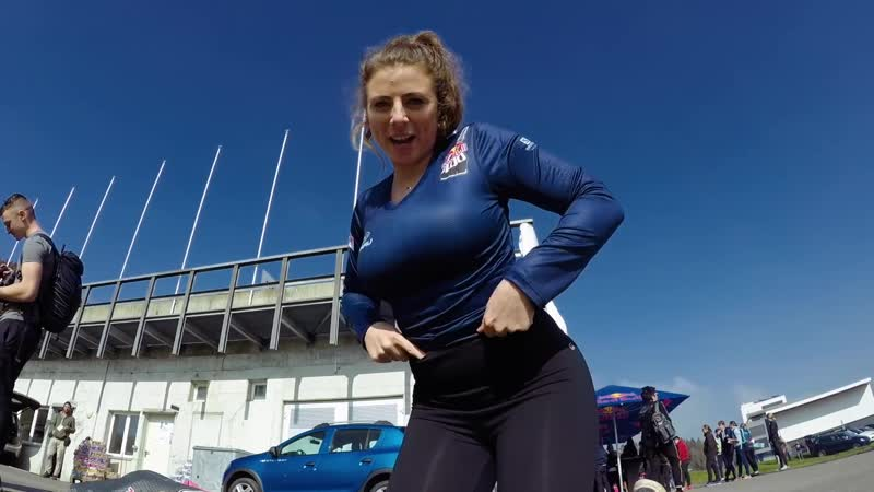 3 Creators Sprint Up A Ski Jump - Red Bull 400 Creators Challenge