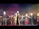Очередное закрытие мюзикла Бал вампиров в Санкт-Петербургском театре Музыкальной комедии 02.07.2018. Поклоны.