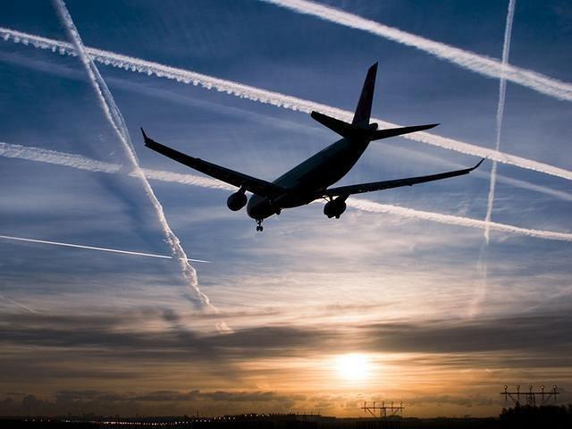 Более 50 самолётов одновременно находились в небе над Ростовской областью из-за рейсов, направленных мимо Украины