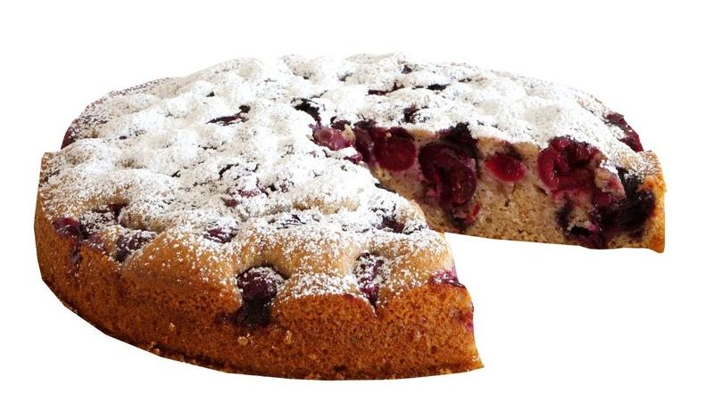 Быстрый вишневый пирог из самых доступных продуктов. Сочный, нежный и ароматный
