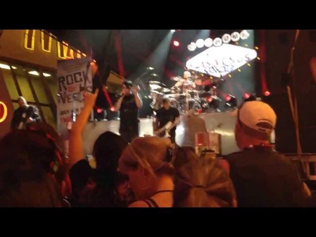 Three Days Grace -Riot 07/04/13 Fremont Street Experience Las Vegas