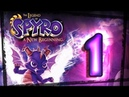 The Legend of Spyro: A New Beginning Walkthrough Part 1 (PS2, Gamecube, XBOX) Swamp