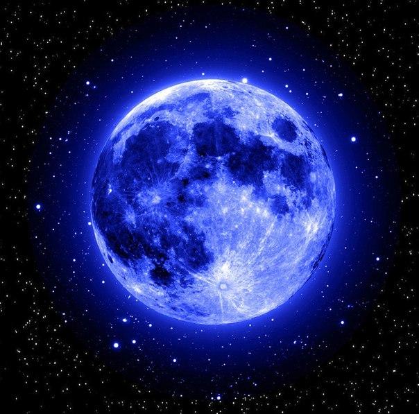 Голубая Луна в марте 2018 года