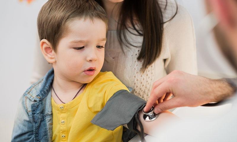Какое давление считается нормальным у ребенка