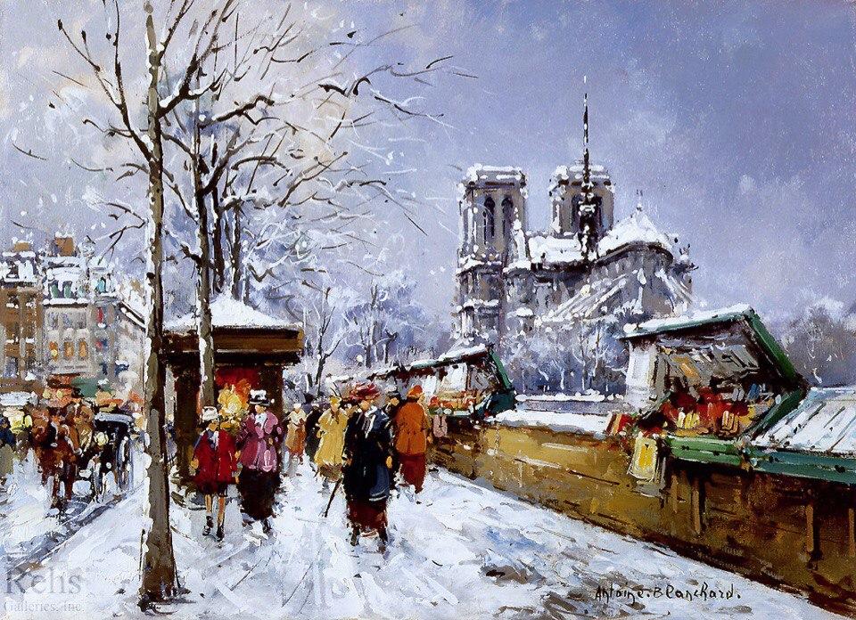 Зимний стриптиз в париже