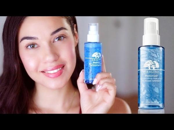 Skincare Tips Giveaway!! | New Origins Mask Primer Review | Eman