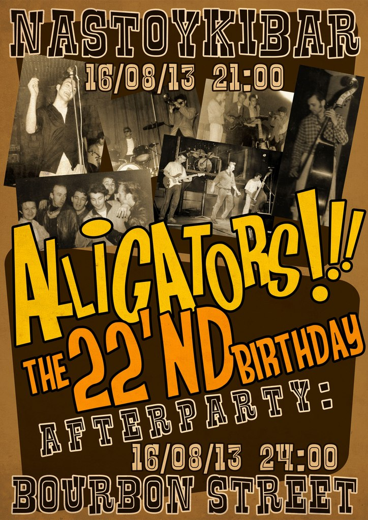 16.08 ALLIGATORS in Nastoykibar!!!