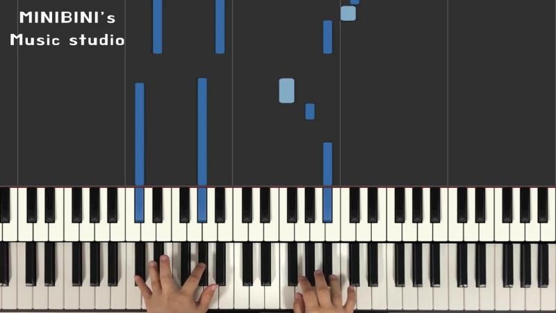 SHINee - Good Evening, Пиано версия