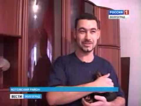 Погорельцы довольны качеством новых домов - Волгоград ТРВ 22.12.2010