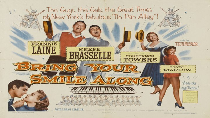 Bring Your Smile Along😁 (Starring Frankie Laine, Features Keefe Brasselle and Constance Towers)