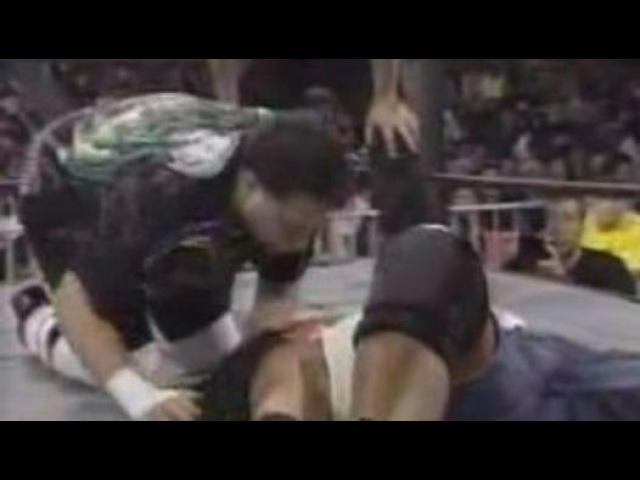 WCW Uncensored 1999 Kidman(c) vs Mikey Whipwreck in a WCW Cruiserweight Championship Match