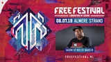 Bass-D - Free Festival 2019 warm-up mix