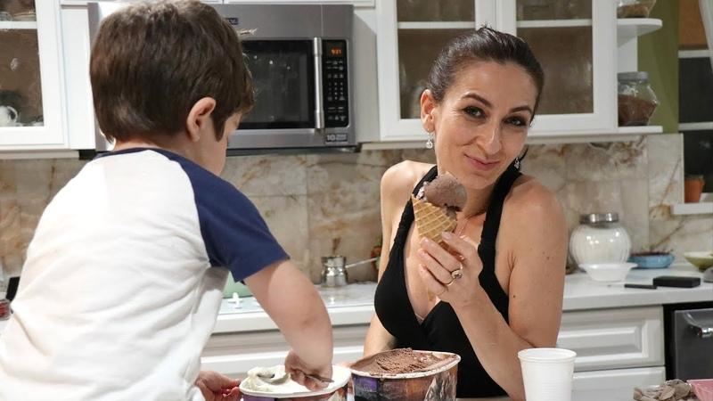 Ուշ լինի Նուշ լինի - Հեղինե - Heghineh Armenian Family Vlog 173 - Mayrik by Heghineh