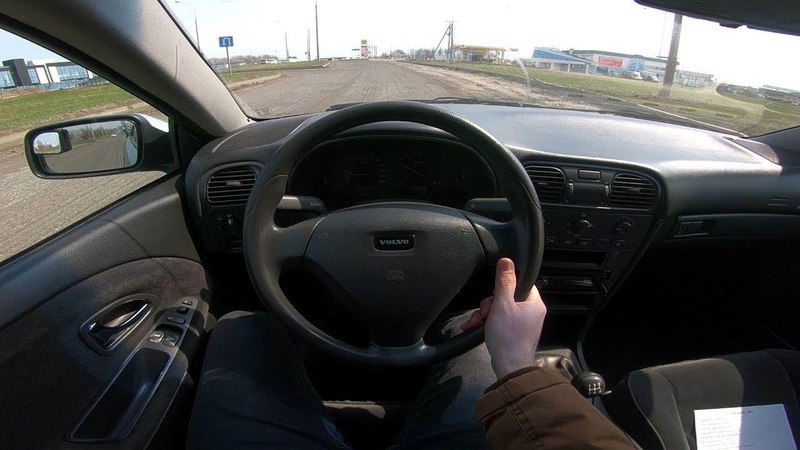 2003 Volvo S40 1.8L POV Test Drive