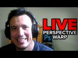 Perspective Warp Tool in Photoshop - 🔴 LIVE Replay