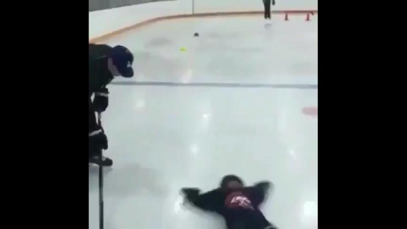 Хоккейный папа