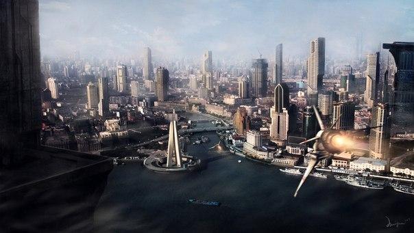 Обои для рабочего стола скачать бесплатно - Города Будущего