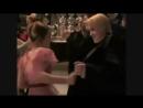 Tom Felton and Emma Watson behind the scene