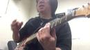 Berklee Private Guitar Lesson / My Berklee student asked my triplet raking technique - Tomo Fujita